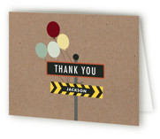 Krafting a Party Children's Birthday Party Thank You Cards