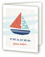 Regatta Race Children's Birthday Party Thank You Cards