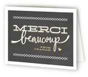 Petit Monsieur Children's Birthday Party Thank You Cards