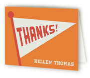 Game Day Childrens Birthday Party Thank You Cards