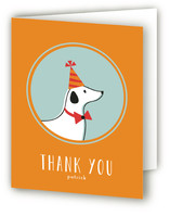 Party Pup Childrens Birthday Party Thank You Cards