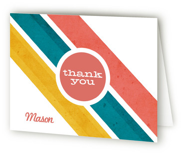 Road Rally Birthday Children's Birthday Party Thank You Cards