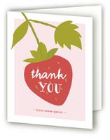 Strawberry Shortcake Childrens Birthday Party Thank You Cards