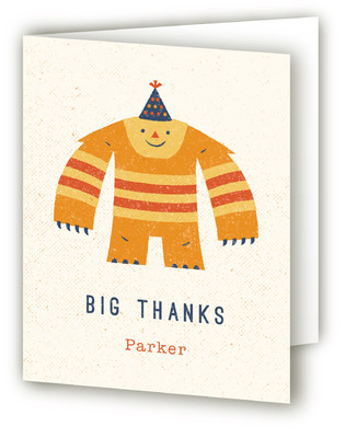 Monster Mash Children's Birthday Party Thank You Cards