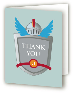A Knight's Birthday Children's Birthday Party Thank You Cards