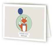 Birthday Fox by Lesa Abney