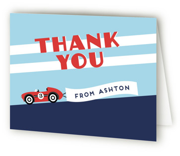 Monaco Children's Birthday Party Thank You Cards