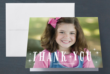 Hooray! Childrens Birthday Party Thank You Cards