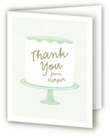 Frosting Childrens Birthday Party Thank You Cards