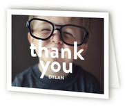 Big Time Children's Birthday Party Thank You Cards
