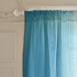 Watercolor Ombr Curtains