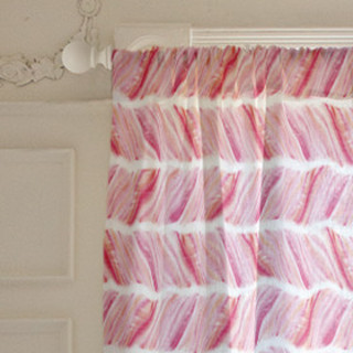 Brushed Herringbone Curtains