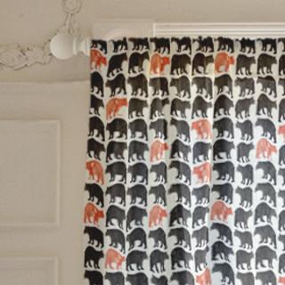 Bold Bears Curtains