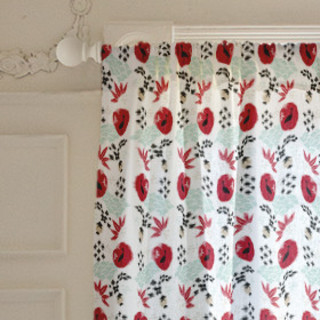 Japanese Springtime Curtains