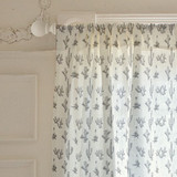 Texas Flora Curtains