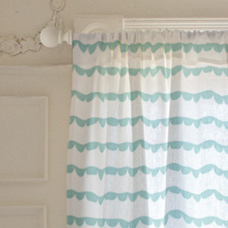 Ruffled Ribbon Curtains