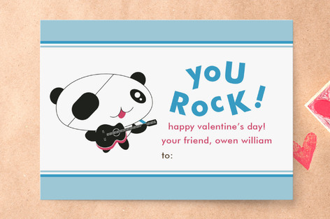 Rockers Classroom Valentine's Cards