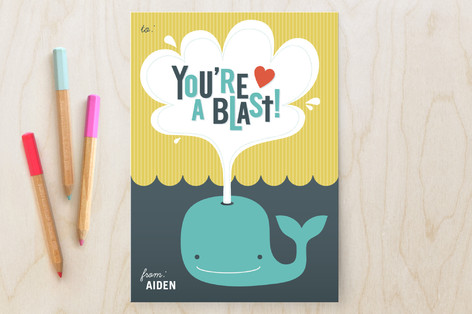 You're a Blast Classroom Valentine's Cards