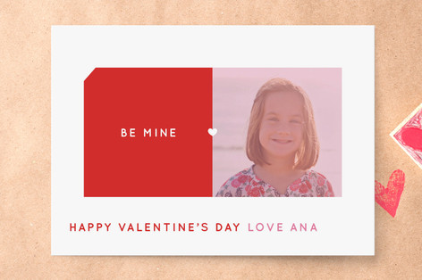 Heart Centerfold Classroom Valentine's Cards