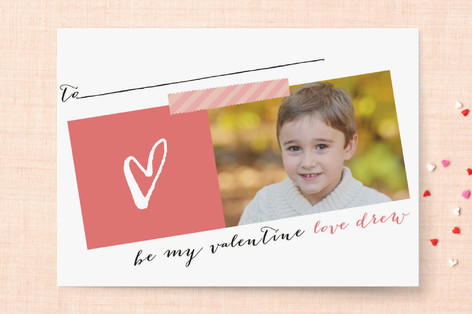 Outline Heart Classroom Valentine's Cards