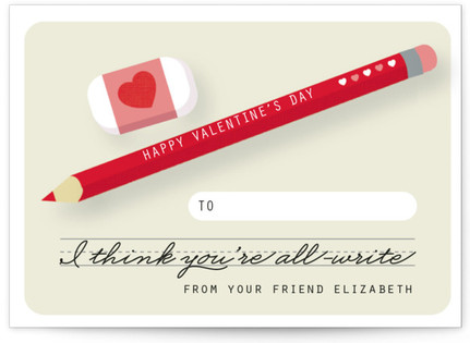 All-Write Classroom Valentine's Day Cards