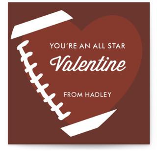 All Star! Classroom Valentine's Day...