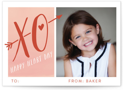 Happy Heart Day! Classroom Valentine's Day Cards