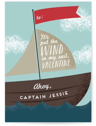 Set Sail Classroom Valentine's Day Cards