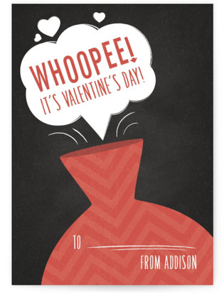 Whoopee! Classroom Valentine's Day Cards