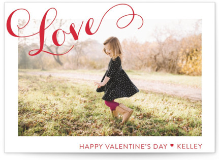 A Chic Love Classroom Valentine's Day Cards