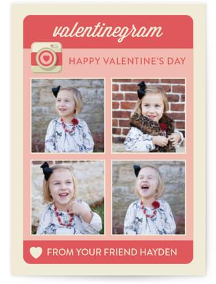 Valentinegram Classroom Valentine's Day Cards