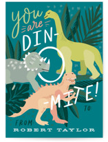 You are Dino-mite! Classroom Valentine's Cards