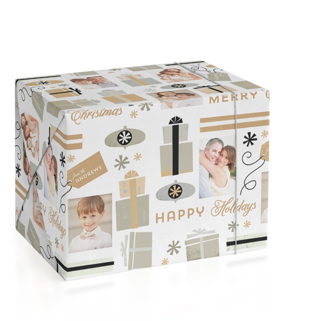 Gift Wrap Personalized Wrapping Paper