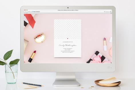 Polka Dot Bachelorette Party Online Invitations