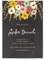 Plentiful Blossoms Brunch Online Invitations