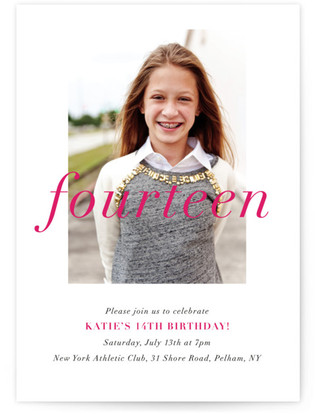 Age Appropriate Children's Birthday Party Online Invitations