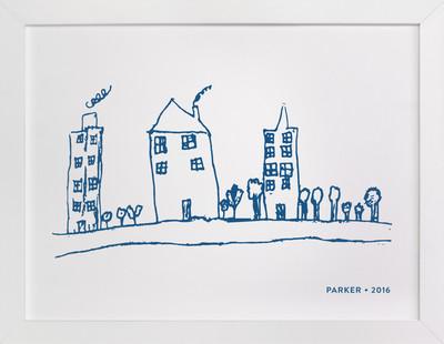 Your Drawing as Art Print Drawn Digital Art