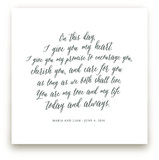 Your Vows as an Art Print Kids Drawn Art