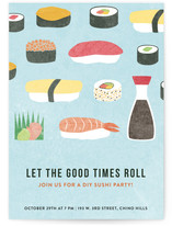 Sushi Roll by Becca Thongkham