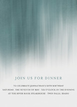 Modern Beach Dinner Party Online Invitations