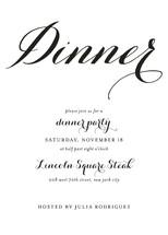 Modern Mint Dinner Party Online Invitations