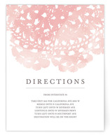 Watercolor and Doilies Direction Cards