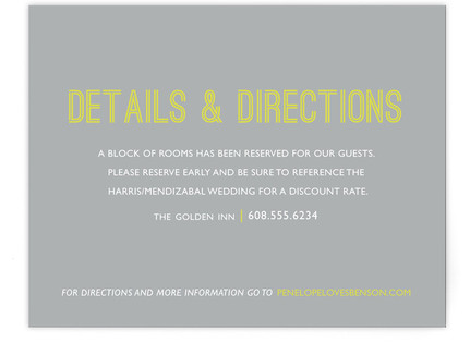 Something Bold Directions Cards