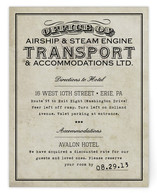 Steampunk Direction Cards