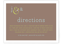 What A Pair Direction Cards
