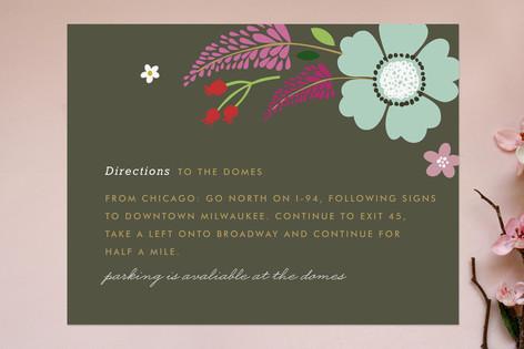 Ladybug Garden Direction Cards