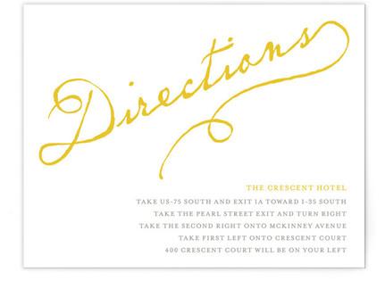 Dearest Directions Cards