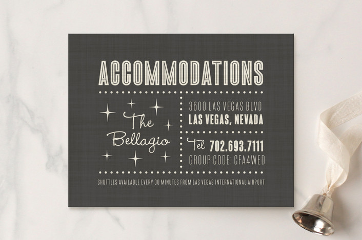 """""""Lucky in Love"""" - Bold typographic, Destination Direction Cards in Charcoal by Susan Asbill."""
