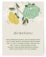 Breezy Bouquet Direction Cards