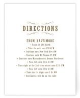 Antique Chalkboard Direction Cards